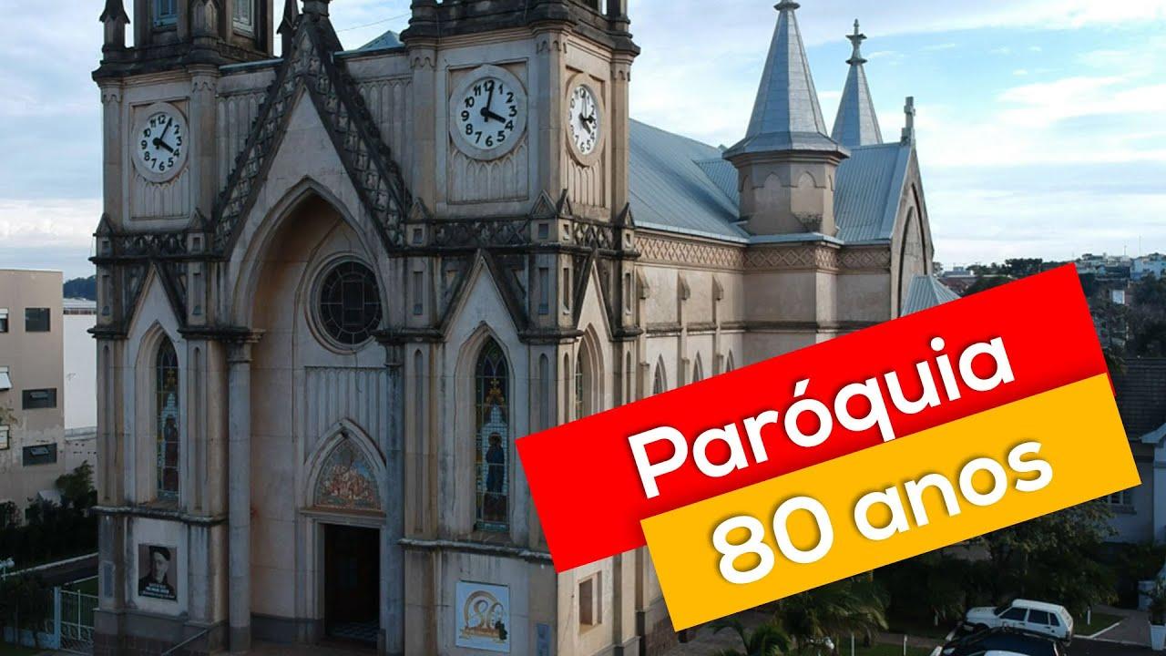 Paróquia São Luiz Gonzaga de Xaxim | 80 anos de fundação