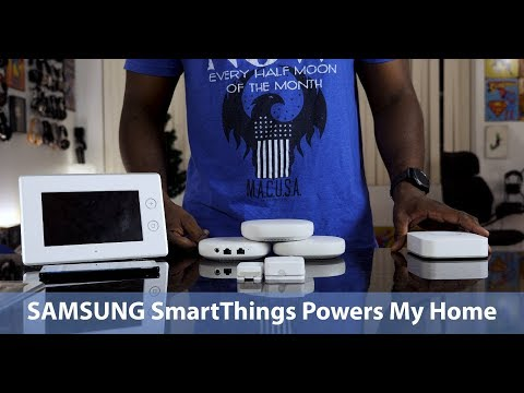 Samsung SmartThings Powers My Home!