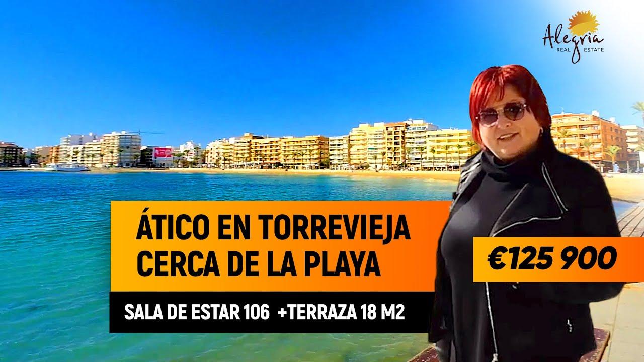Ático en Torrevieja cerca de la playa. Viviendas en España de inmobiliaria  Alegria