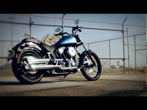 2011 Harley Blackline Review - Harley's latest bad boy goes barely legal