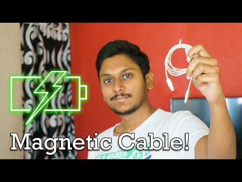 Magnetic Charging Cable for your Phone from Banggood