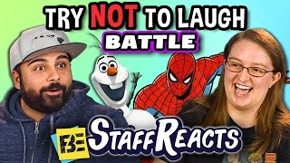 Try to Watch This Without Laughing or Grinning Battle #2 (ft. FBE Staff)