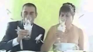 Очуменная невеста, мужику реально повезло! Приколы на свадьбе!