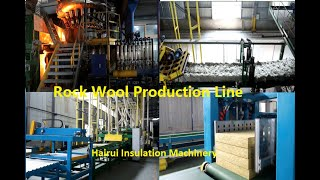 Themal Heat Insulation/Mineral/Stone/Rock Wool Board/Slab/Sheet/Panel/Roll Production Line Machine youtube video