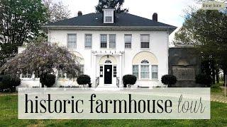 NEW HOME TOUR! | 1920s HISTORIC GEORGIAN REVIVAL FARMHOUSE