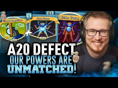 Our Powers are UNMATCHED! | Ascension 20 Defect Run | Slay the Spire