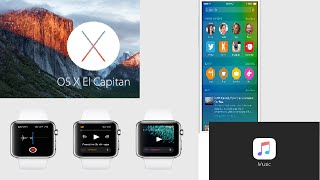 Mac OS X El Capitan, iOS 9, And Watch OS 2