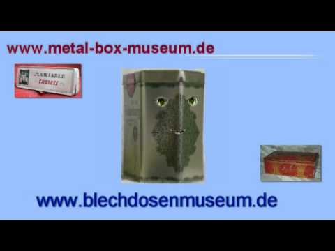 Sprechende Dose, metal-box-museum