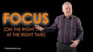 How to pass your exams with FOCUS - Lee Jackson motivational speaker