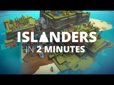 ISLANDERS Launch Trailer - Minimalist City Builder thumbnail