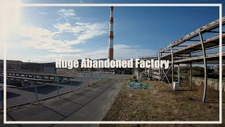 Huge Abandoned Factory ???? / FPV Freestyle