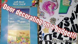 Door Decorating - Preparing For Carnival Magic!