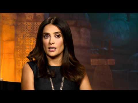 Salma Hayek 'Puss In Boots' Interview