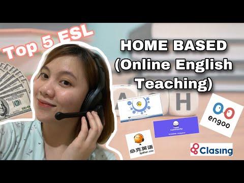 TOP 5 ONLINE TEACHING JOBS   HOMEBASED WORK   Work from Home   200php/hr   Teach English   ESL