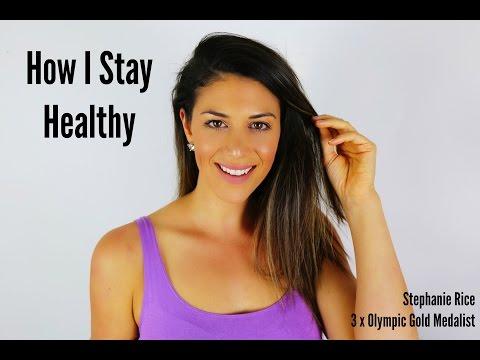 HOW I STAY HEALTHY | Stephanie Rice