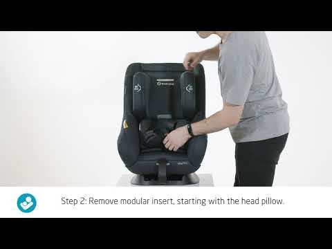 Maxi Cosi Vita Pro - How to remove the infant insert