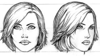 Смотреть онлайн Как поэтапно нарисовать голову человека