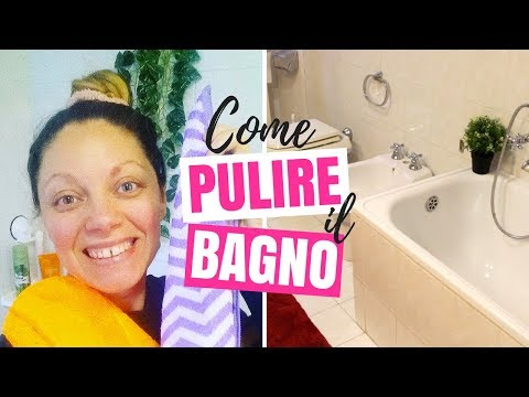 MOTIVATIONAL CLEANING: COME PULIRE A FONDO IL BAGNO + COME PULIRE IL BOX DOCCIA DA CALCARE E MUFFA