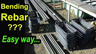 How to bend 10mm rebar