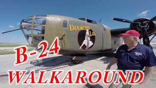 B-24 / LB-30 Liberator Diamond Lil Walkaround