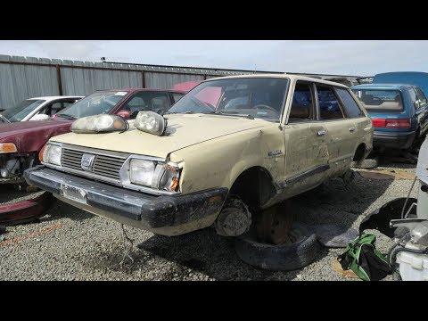 Junkyard Treasure: 1982 Subaru GL Station Wagon