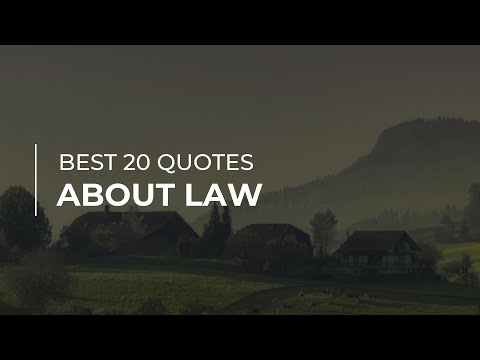 Best 20 Quotes about Law | Daily Quotes | Motivational Quotes | Most Popular Quotes