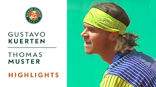 gustavo kuerten v thomas muster highlights men - Abschiedsrede Muster
