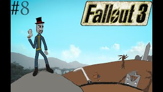 Fallout 3 Episode 8 Mirelurks and Dangers on the travel to Rivet City