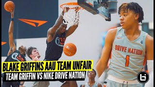 Keyonte George Takes On Blake Griffins Insanely Stacked Team!