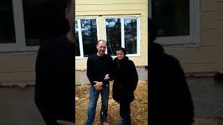 Видео-отзыв владельцев дома, построенного Приозерским лесокомбинатом