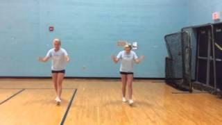 Tryout floor cheer
