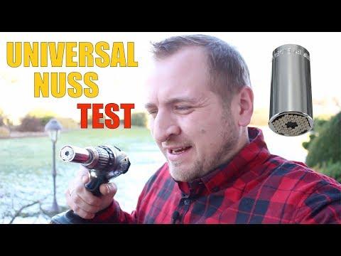 UniversalNuss TEST / ERFAHRUNGEN ❌ COOLES WERKZEUG GADGET ⭐⭐⭐⭐⭐ 2018 Deutsch
