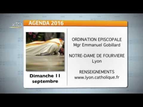 Agenda du 5 septembre 2016