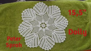 How To Crochet 15,5 Doily - Video Tutorial