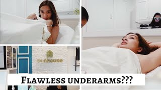 How To Get Your Most FLAWLESS UNDERARMS|Vlog