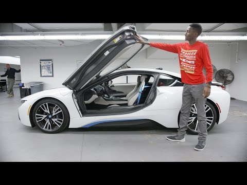 Fun with the BMW i8!
