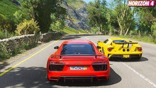 Forza Horizon 4 Audi R8 V10 Plus   Goliath Race Gameplay