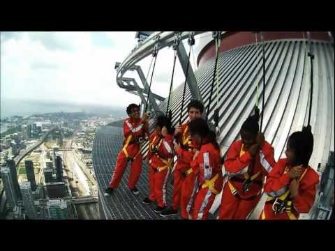 These Crazy CN Tower Ride Videos Shrivel My Testes
