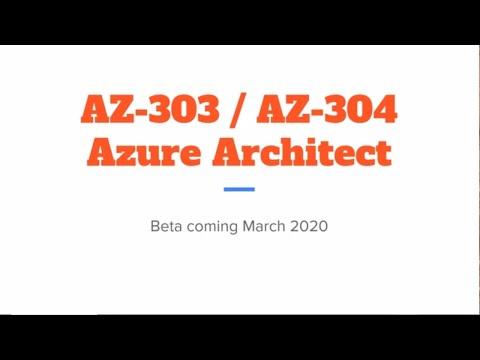 New AZ-303 and AZ-304 Exams Replace AZ-300 and AZ-301 ...