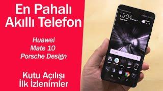 En pahalı akıllı telefon l Huawei Mate 10 Porsche Design ilk izlenimler - dooclip.me