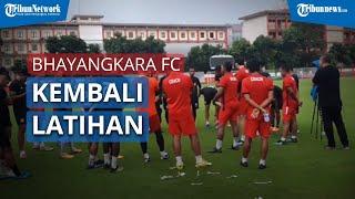 Bhayangkara FC Kembali Jalani Latihan di Stadion PTIK