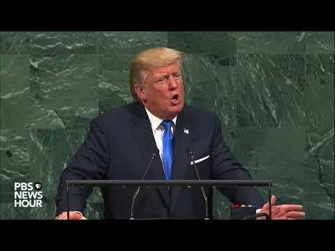 President Trump denounces North Korea during UNGA address