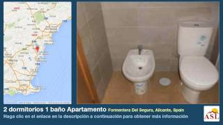 preview picture of video '2 dormitorios 1 baño Apartamento se Vende en Formentera Del Segura, Alicante, Spain'