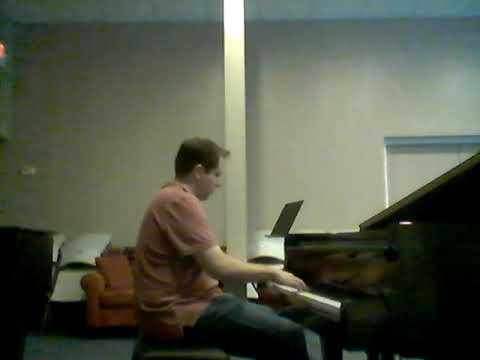 """Stephen M. performing """"Flying Battery Zone"""" from the classic sega game Sonic & Knuckles by student reguest."""