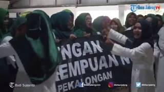 Jaringan Perempuan NU se-Kabupaten Pekalongan Gelar Ikrar Dukung Jokowi Ma'ruf