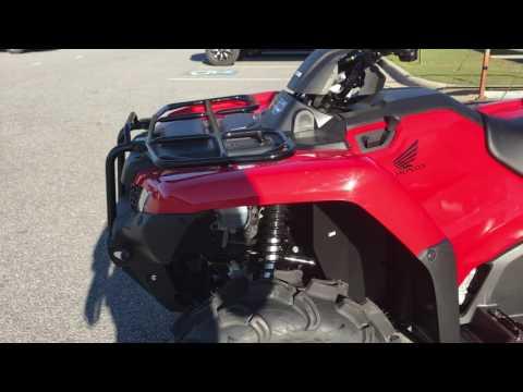 2017 Honda FourTrax Rancher 4x4 ES in Greenville, North Carolina