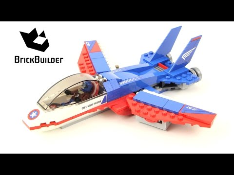 Vidéo LEGO Marvel 76076 : La poursuite en avion de Captain America
