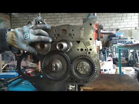 Т-25. Часть 11. Сборка двигателя Д-21. Продолжение