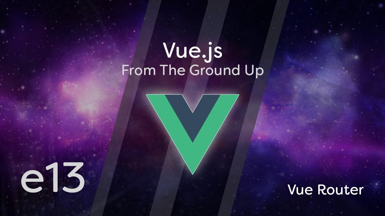 Cover image for the lesson by the title of Vue Router
