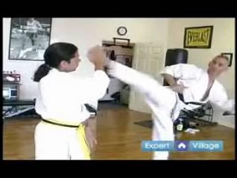 Advanced Kyokushin Karate Techniques : How to Do a Kyokushin Knock Down Kick